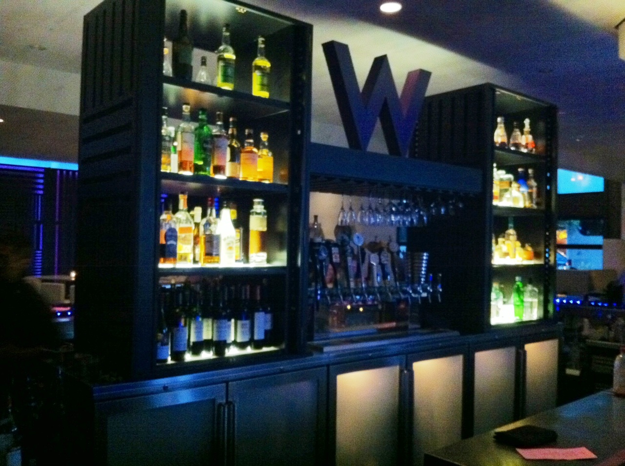 W hotel living room bar a lady goes west for W living room lounge