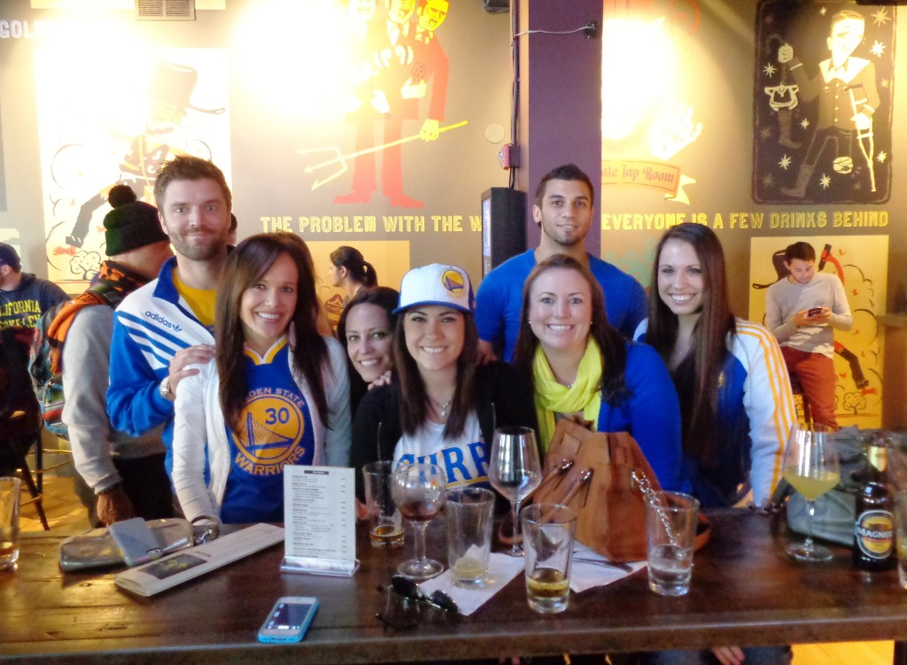 Warriors at Golden Gate Tap Room