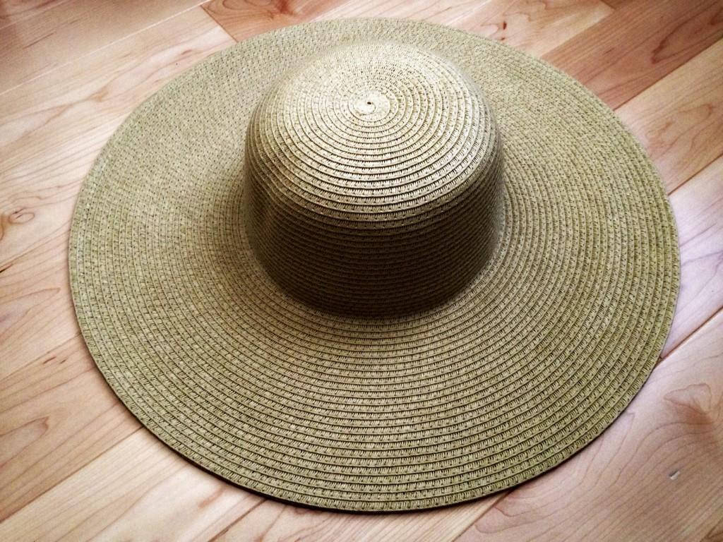 Summer beach hat