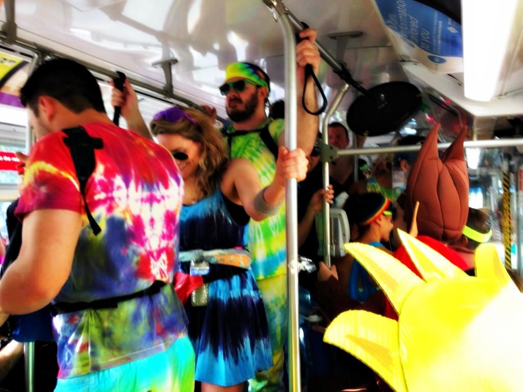 b2b bus ride