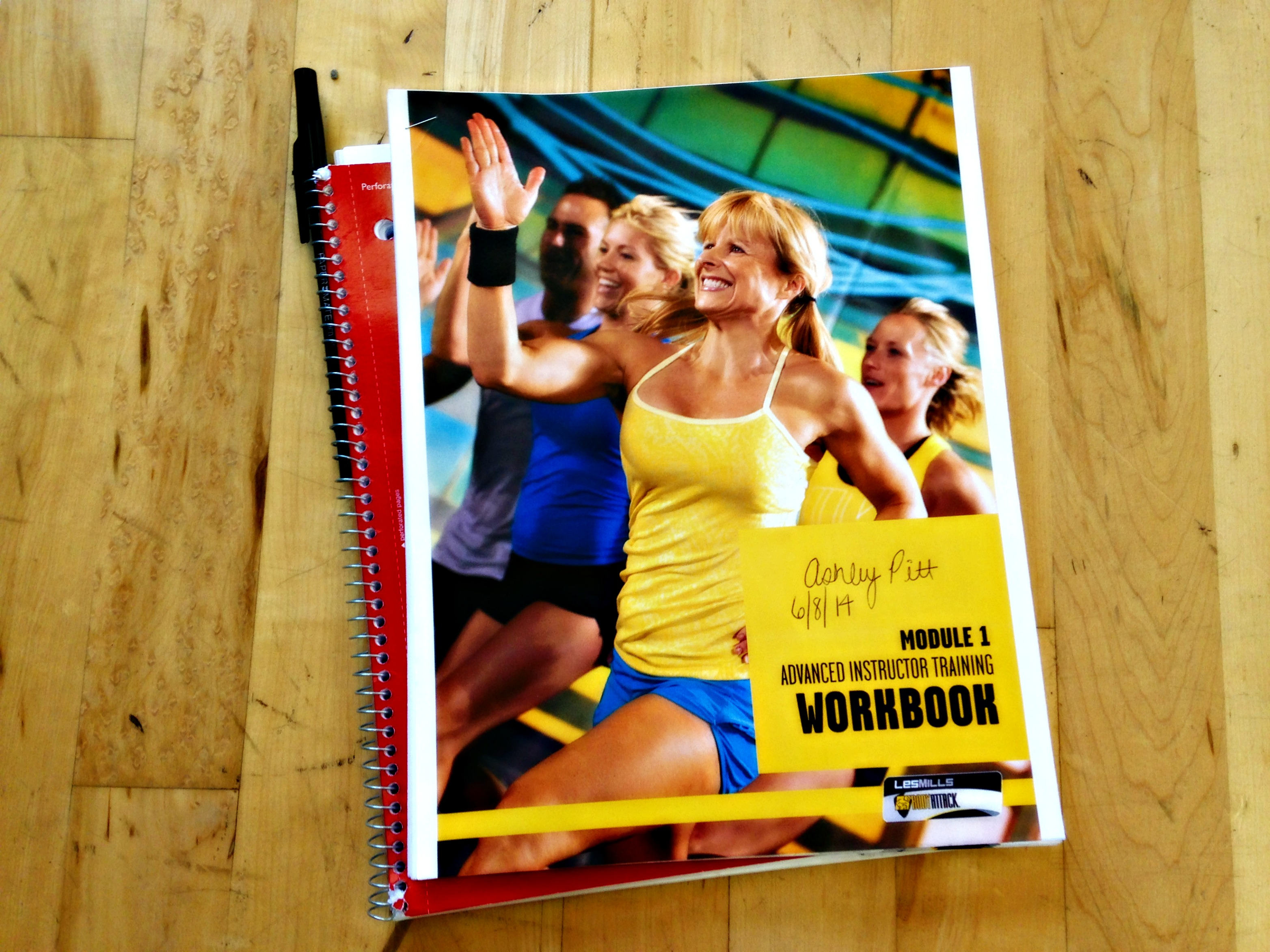 BODYATTACK workbook