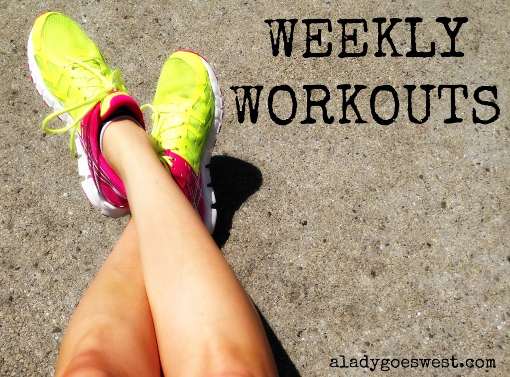 New Weekly Workouts