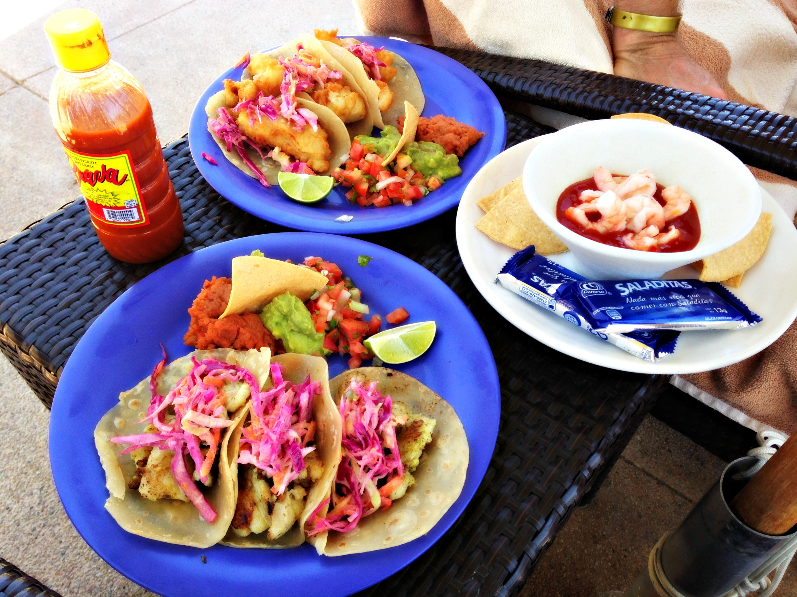 PB fish tacos