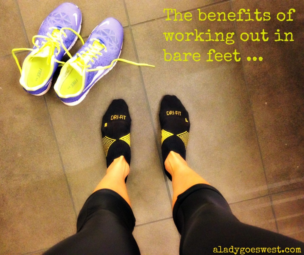 Benefits of bare feet