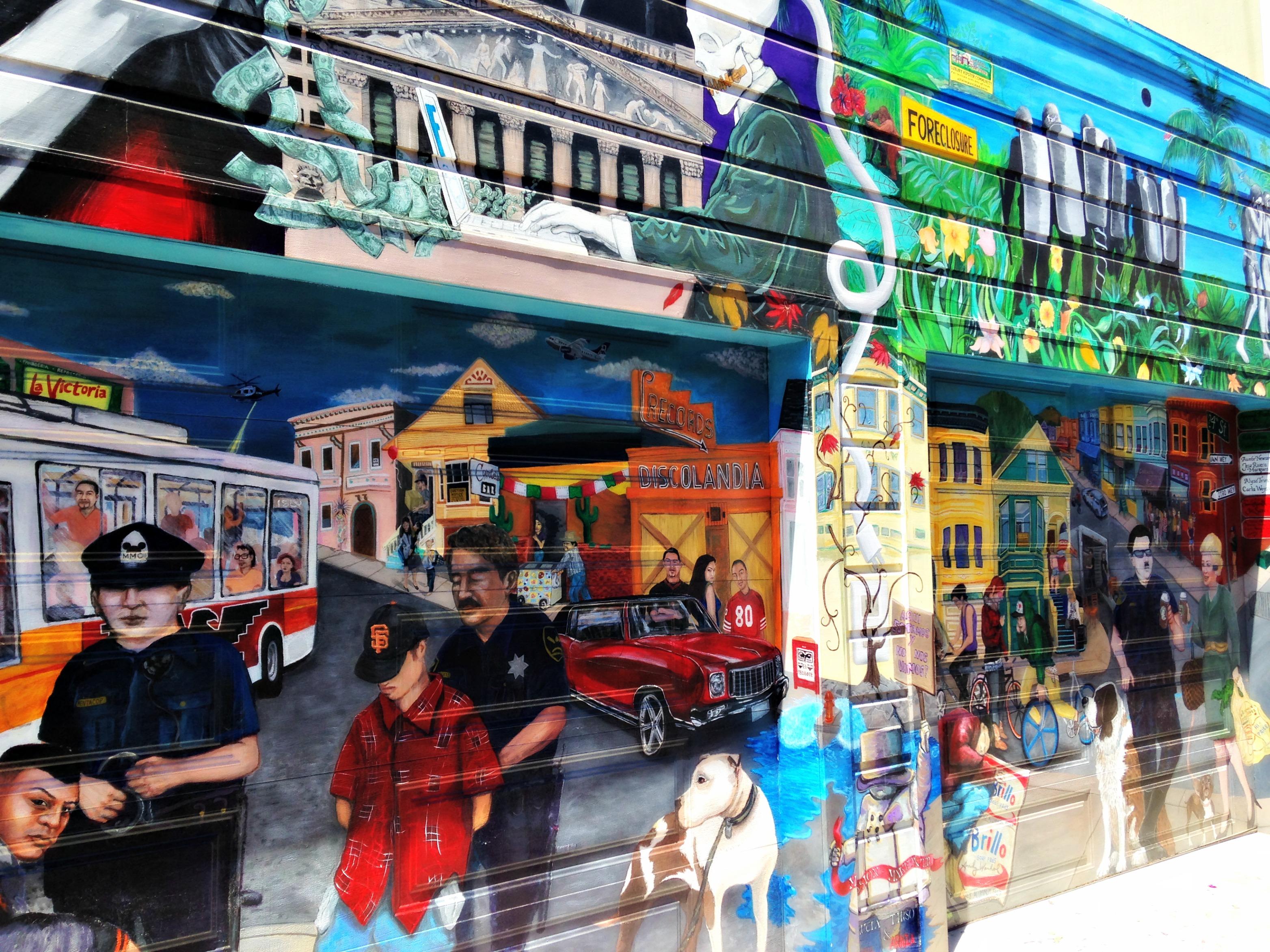 Murals on Balmy Alley