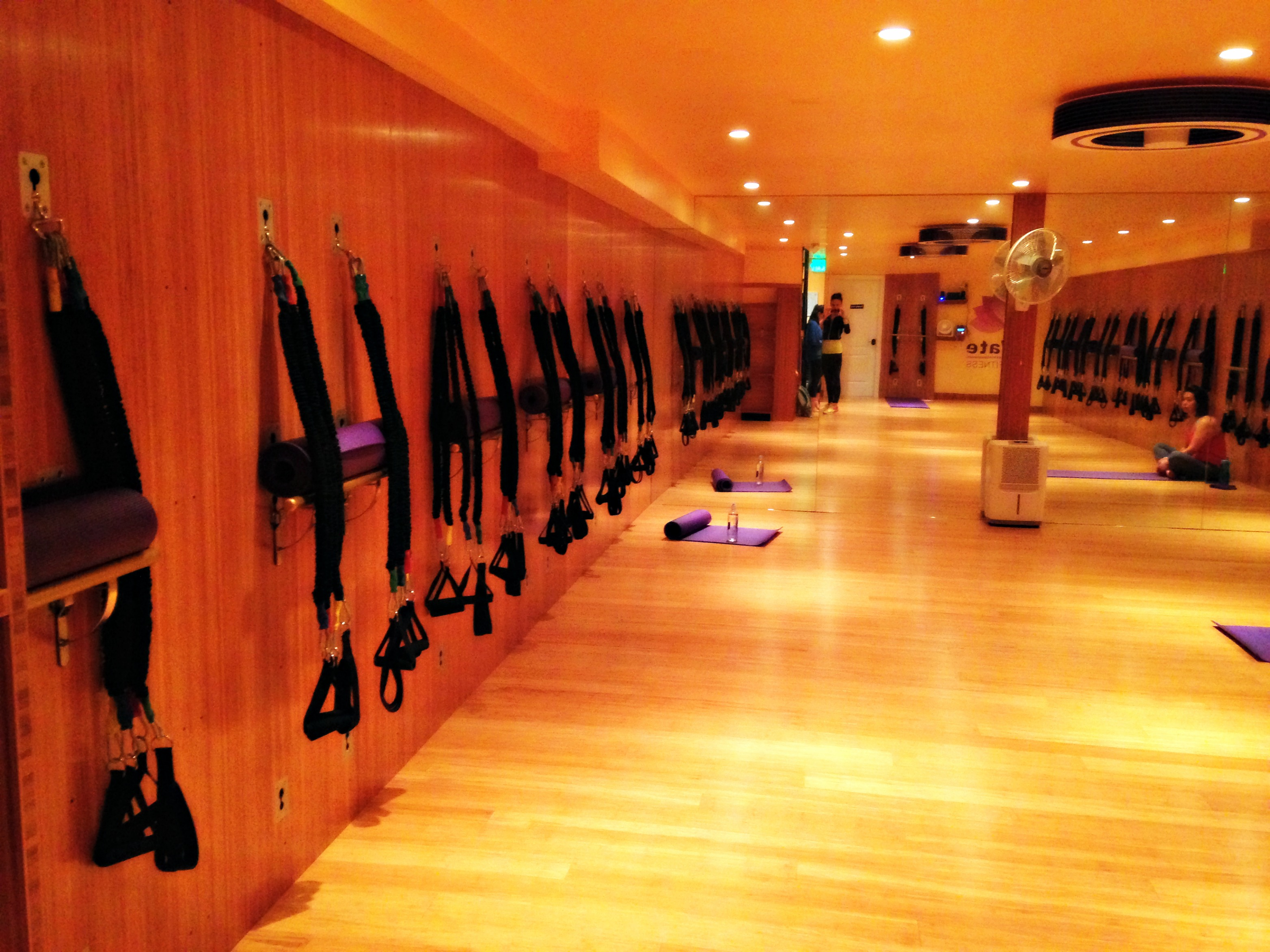Elevate Group Fitness studio