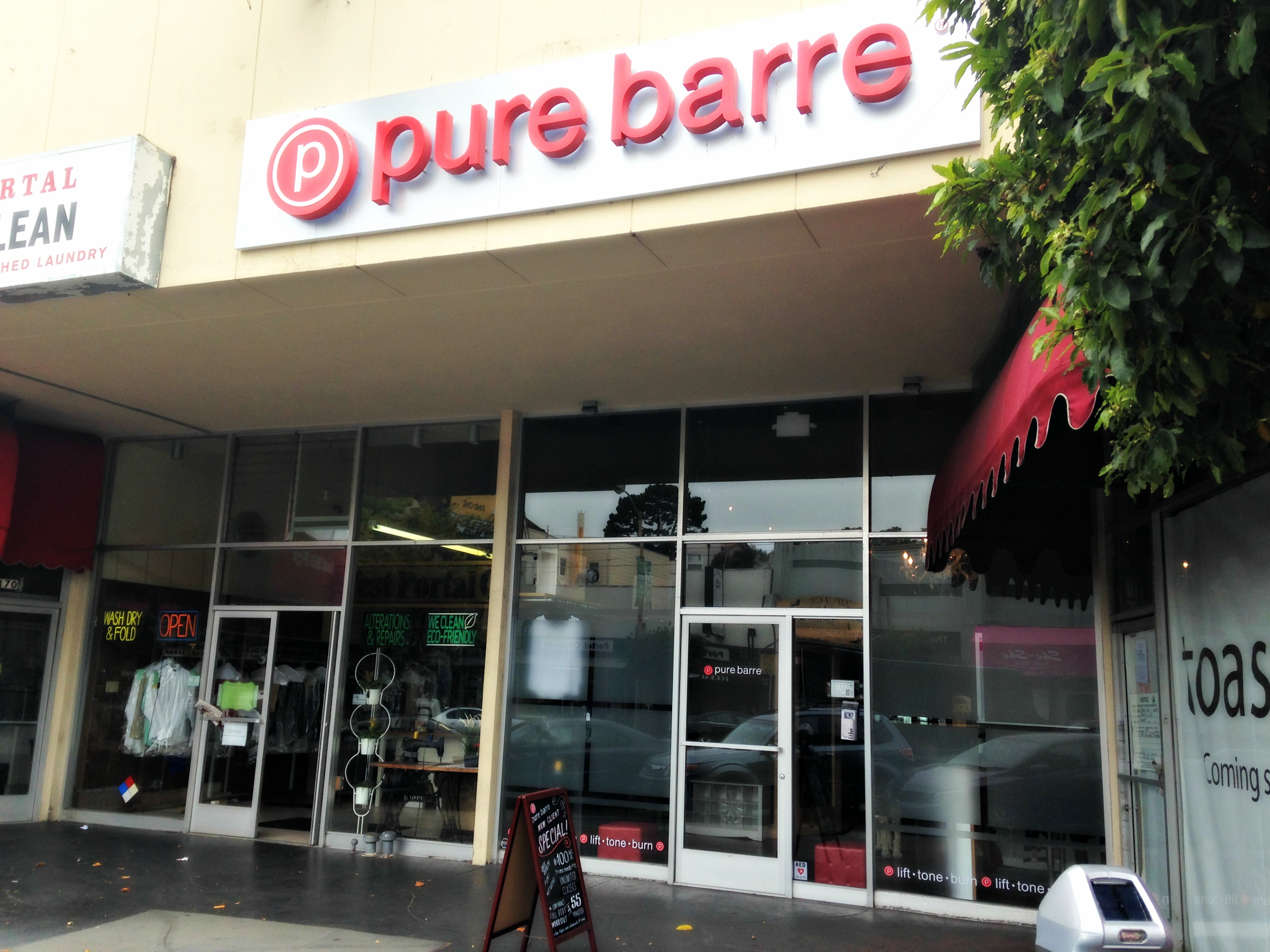 Pure Barre West Portal
