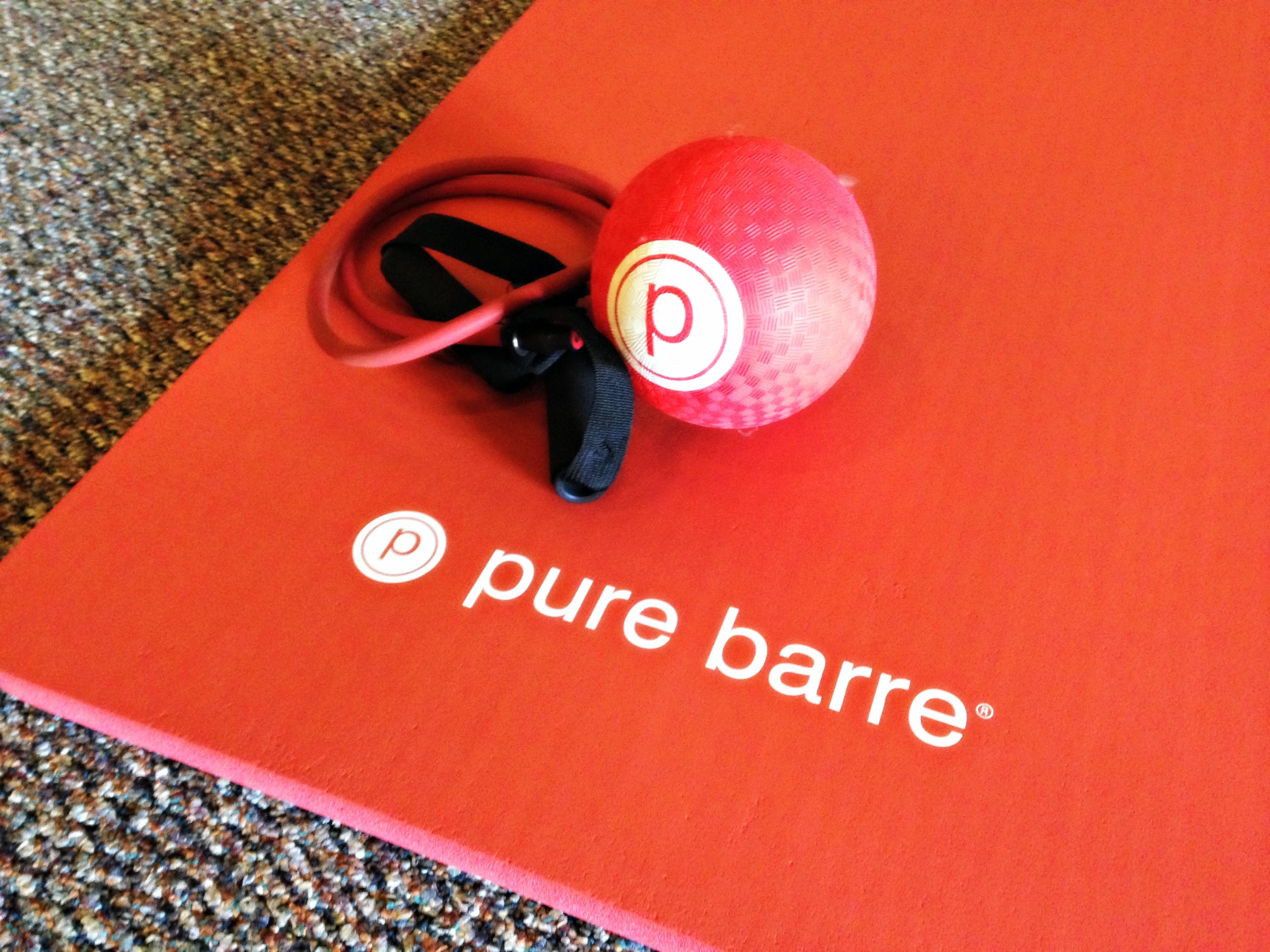 Pure Barre equipment
