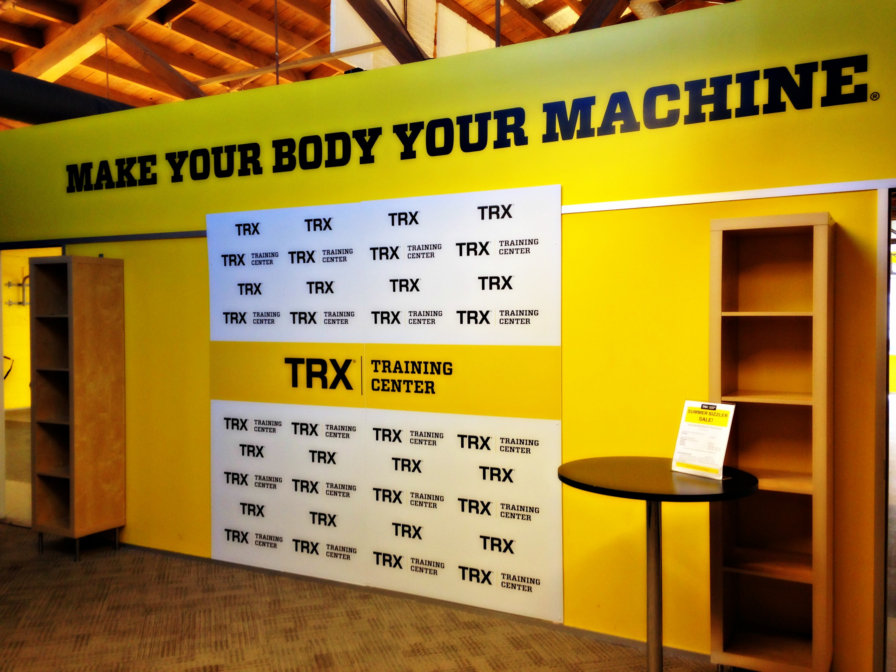 TRX step and repeat