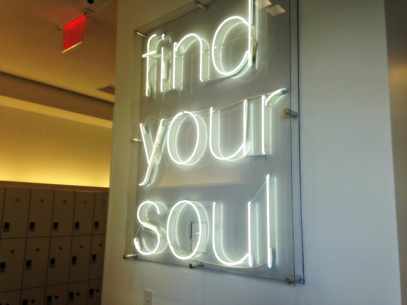 Find Your Soul sign in SoulCycle