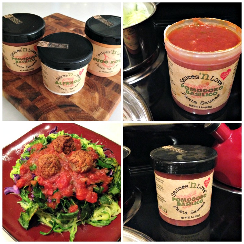 Sauces n Love Pasta Sauce via A Lady Goes West