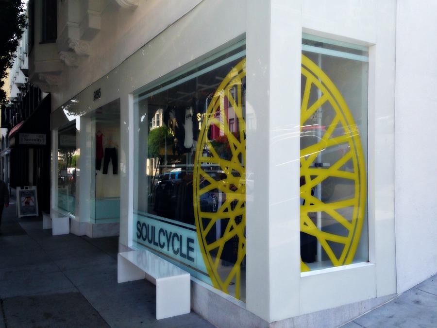 SoulCycle studio exterior