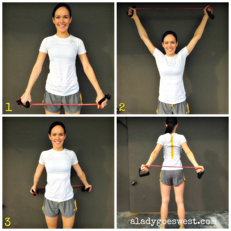 Shoulder mobility exercise via A Lady Goes West