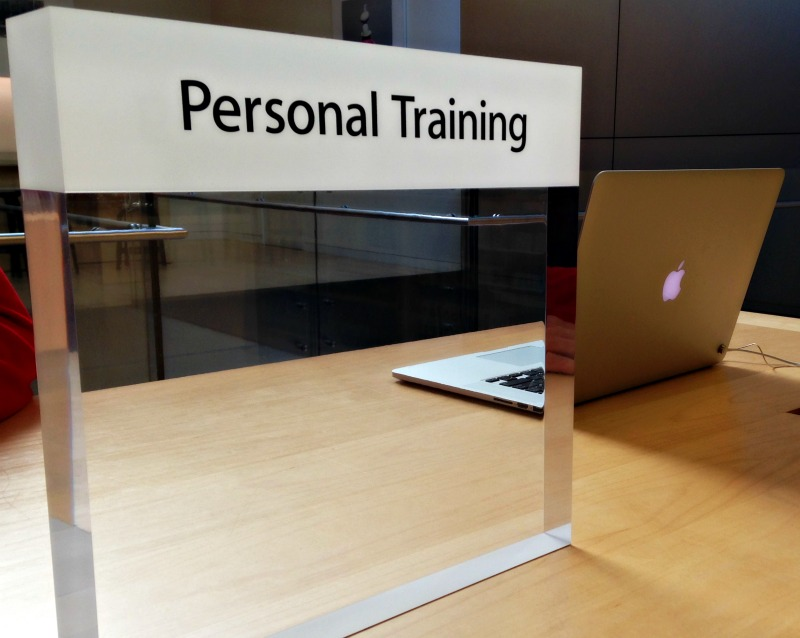 Apple personal training