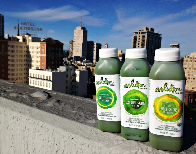 Evolution Fresh green juices via A Lady Goes West