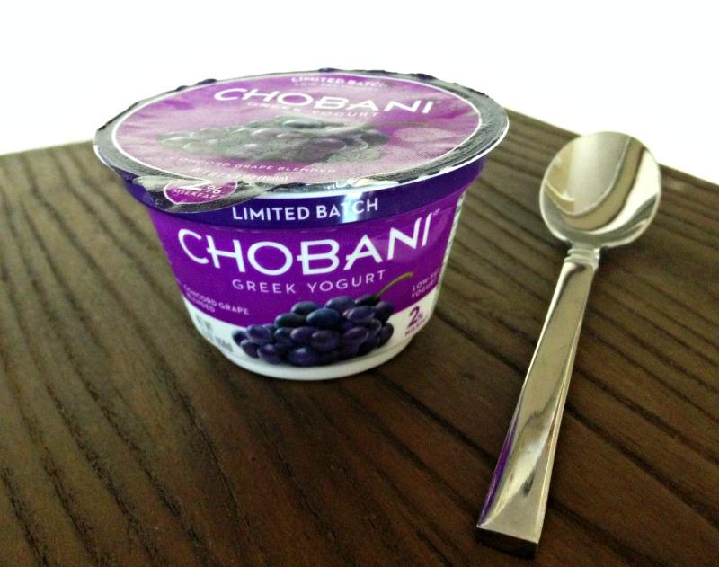 Chobani Concord Grape Flavored