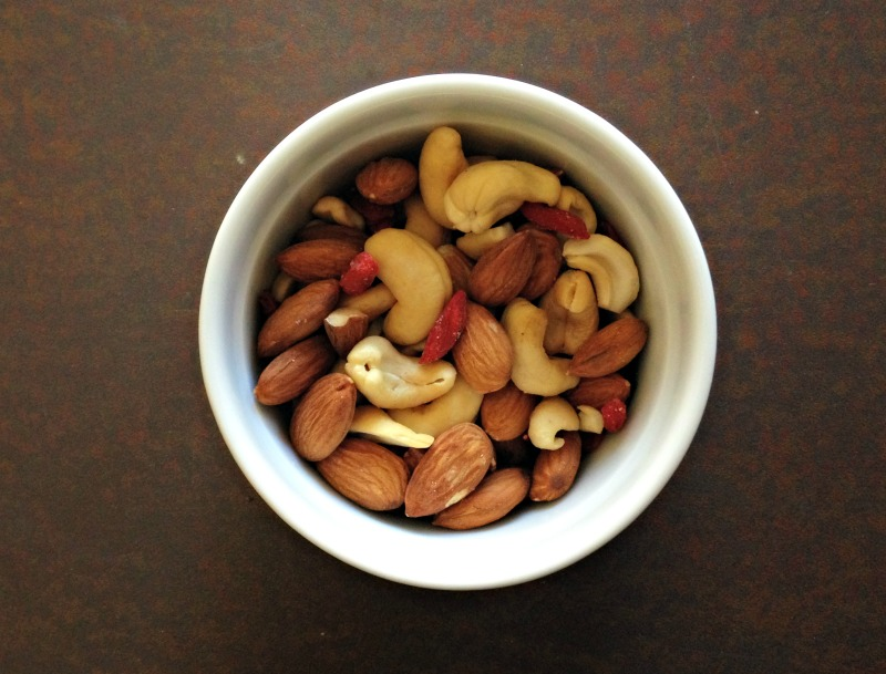 Nuts for a snack 2.25