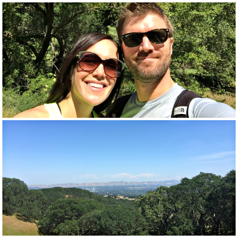 Ashley and Dave at Briones Park