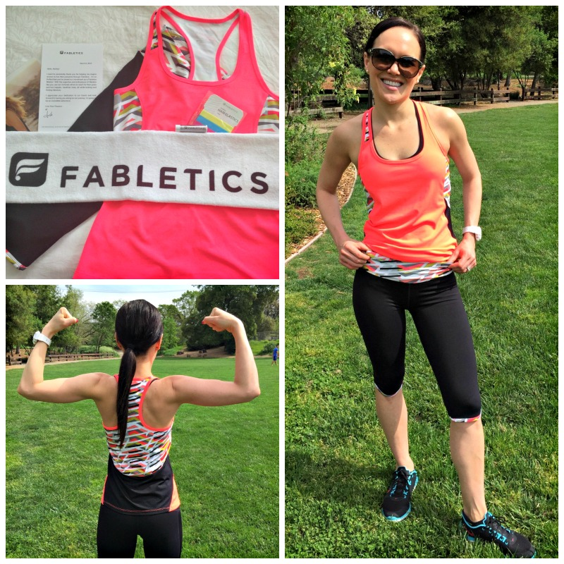Ashley in Fabletics clothing