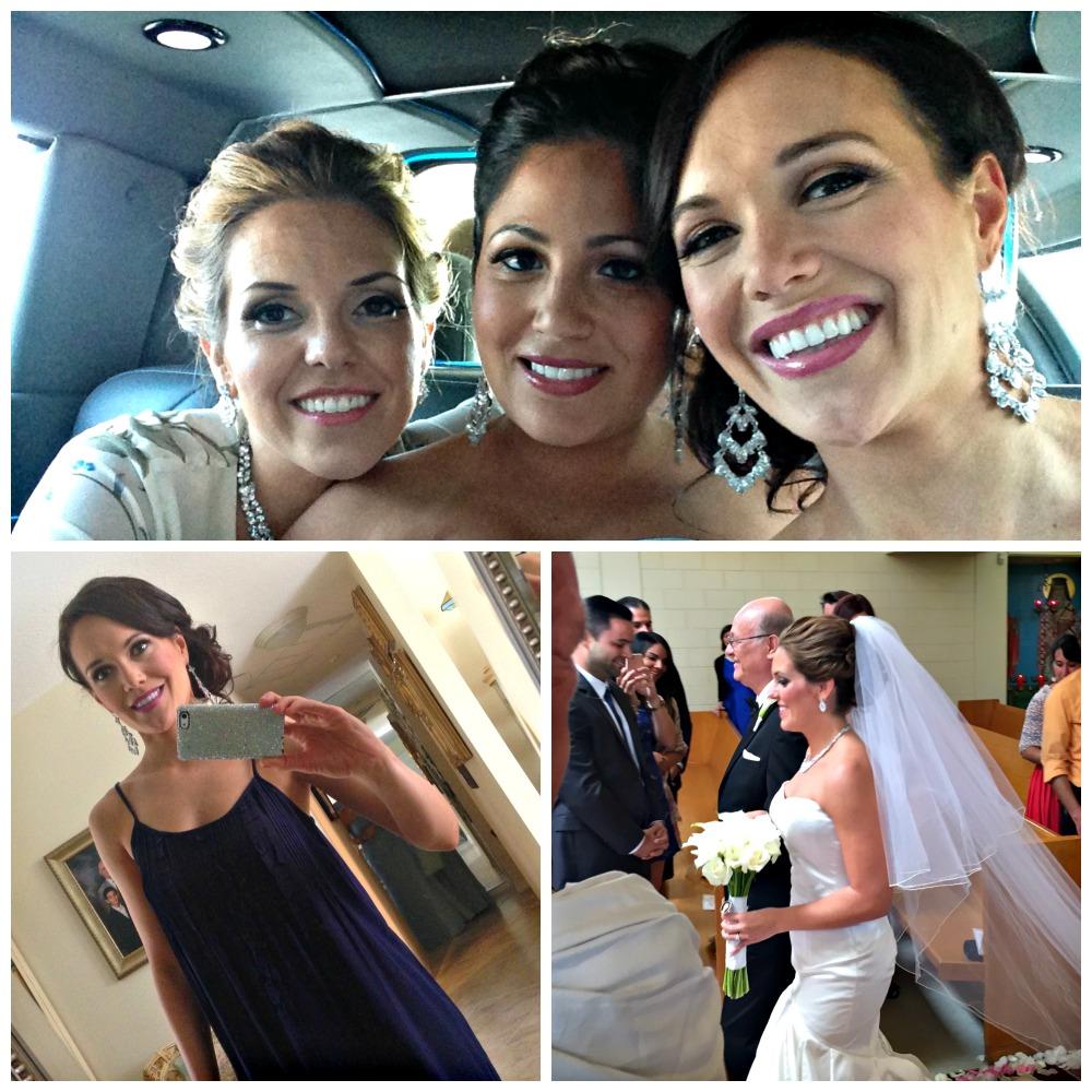 Melissa's wedding day