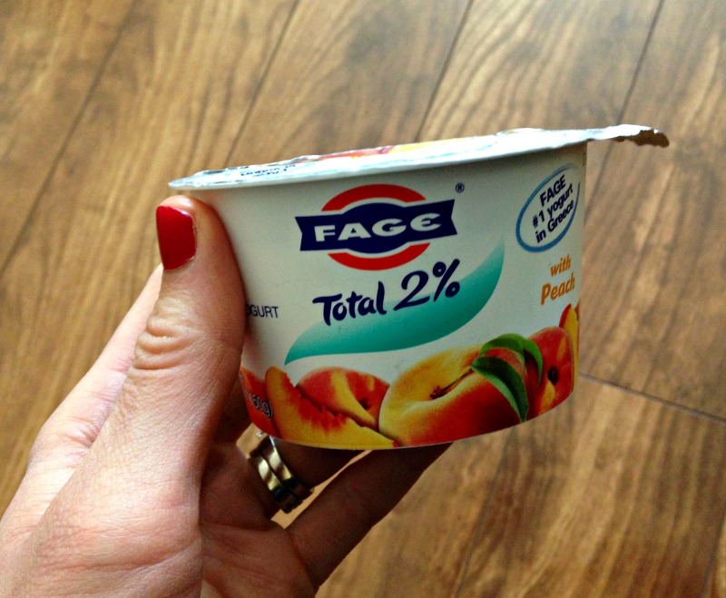 Yogurt for a snack 5.10.11