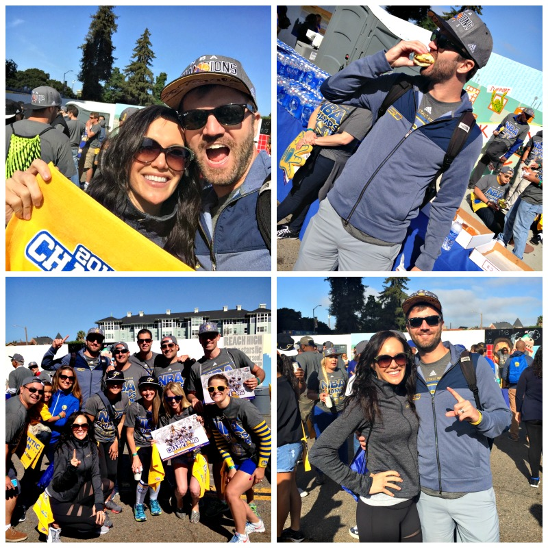 Golden State Warriors parade in Oakland