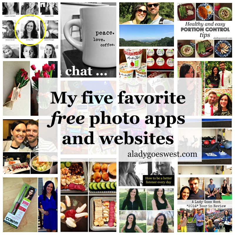 My five favorite free photo apps and websites via A Lady Goes West