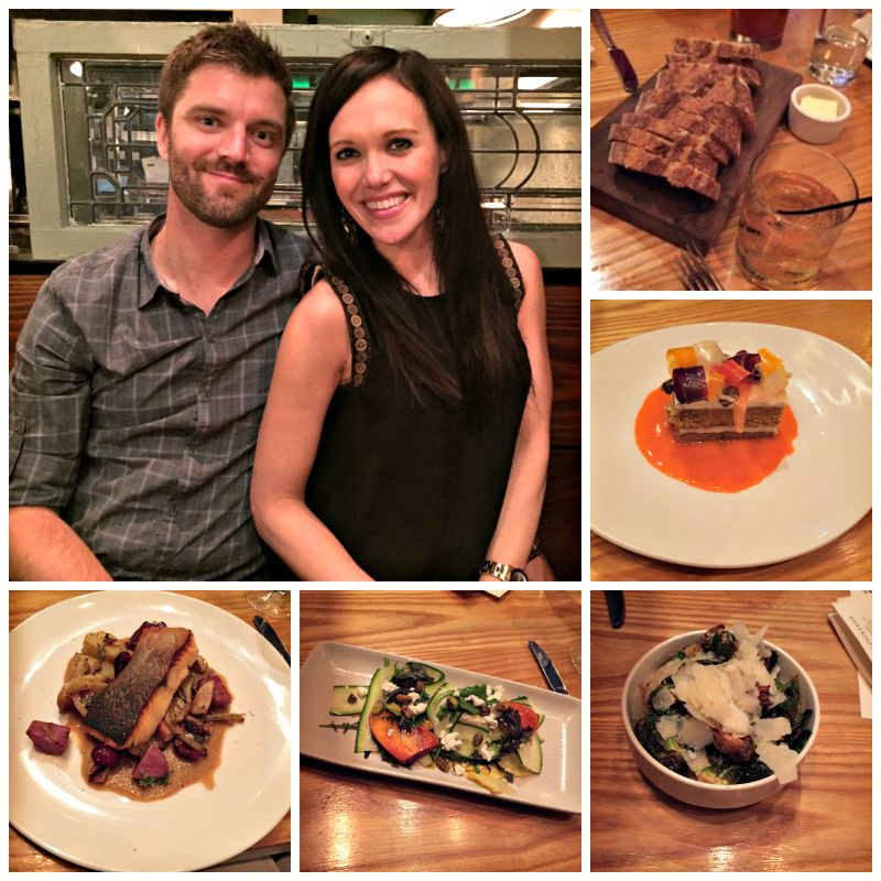 Dinner at Corners Tavern in Walnut Creek via A Lady Goes West