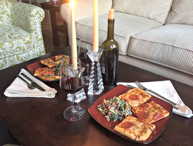 How to have a perfect date-night at home by A Lady Goes West