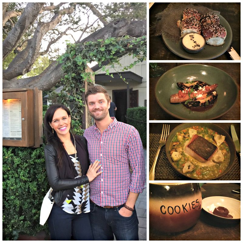 Dinner at Restaurant 1833 in Monterey via A Lady Goes West blog
