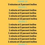 25-minute power-walking treadmill workout