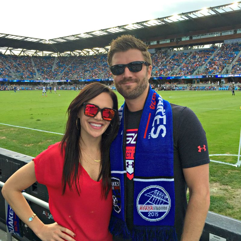 Earthquakes game via A Lady Goes West