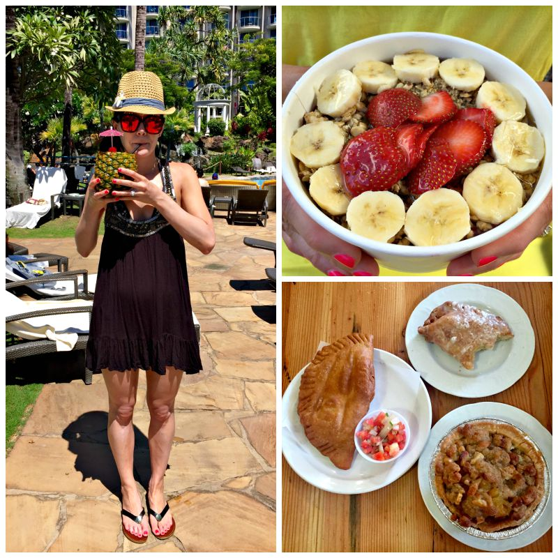 Leoda's Pie, acai bowl and poolside via A Lady Goes West Maui