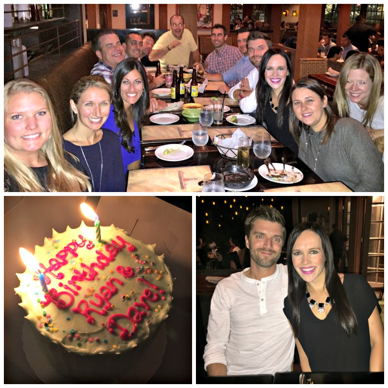 Birthday dinner at Maria Maria via A Lady Goes West