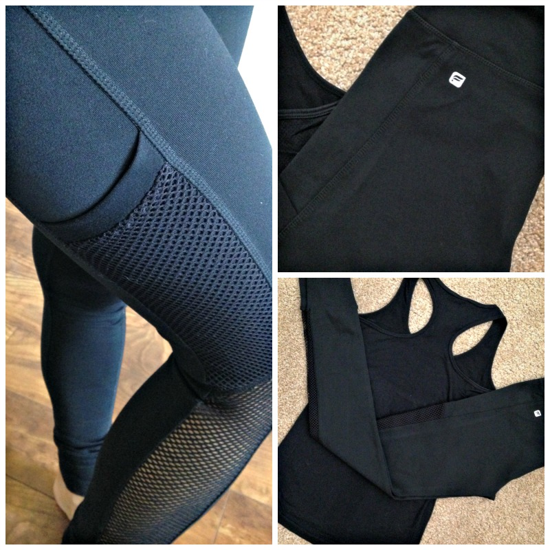 Fabulous black Fabletics outfit via A Lady Goes West