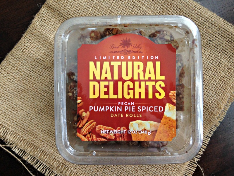 Natural Delights Pumpkin Pie Spiced Date Rolls via A Lady Goes West