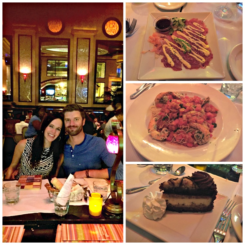 The Cheesecake Factory dinner via A Lady Goes West