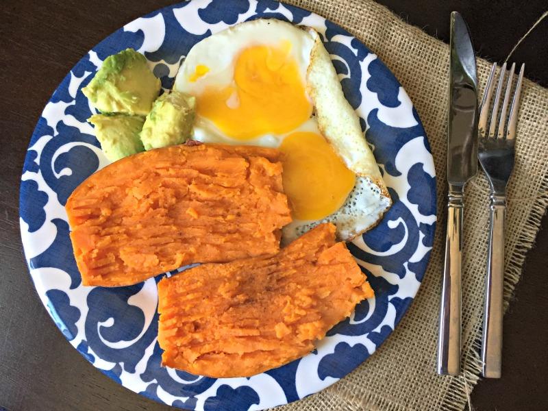 WIAW - potato lunch on sunday
