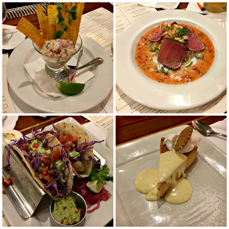 Dinner at Walnut Creek Yacht Club via A Lady Goes West