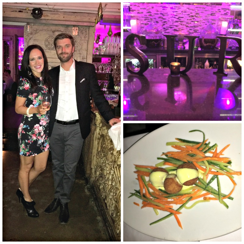 Fabulous dinner at SUR restaurant via A Lady Goes West blog