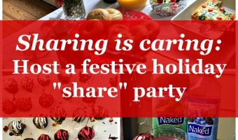 "Sharing is caring: Host a festive holiday ""share"" party"