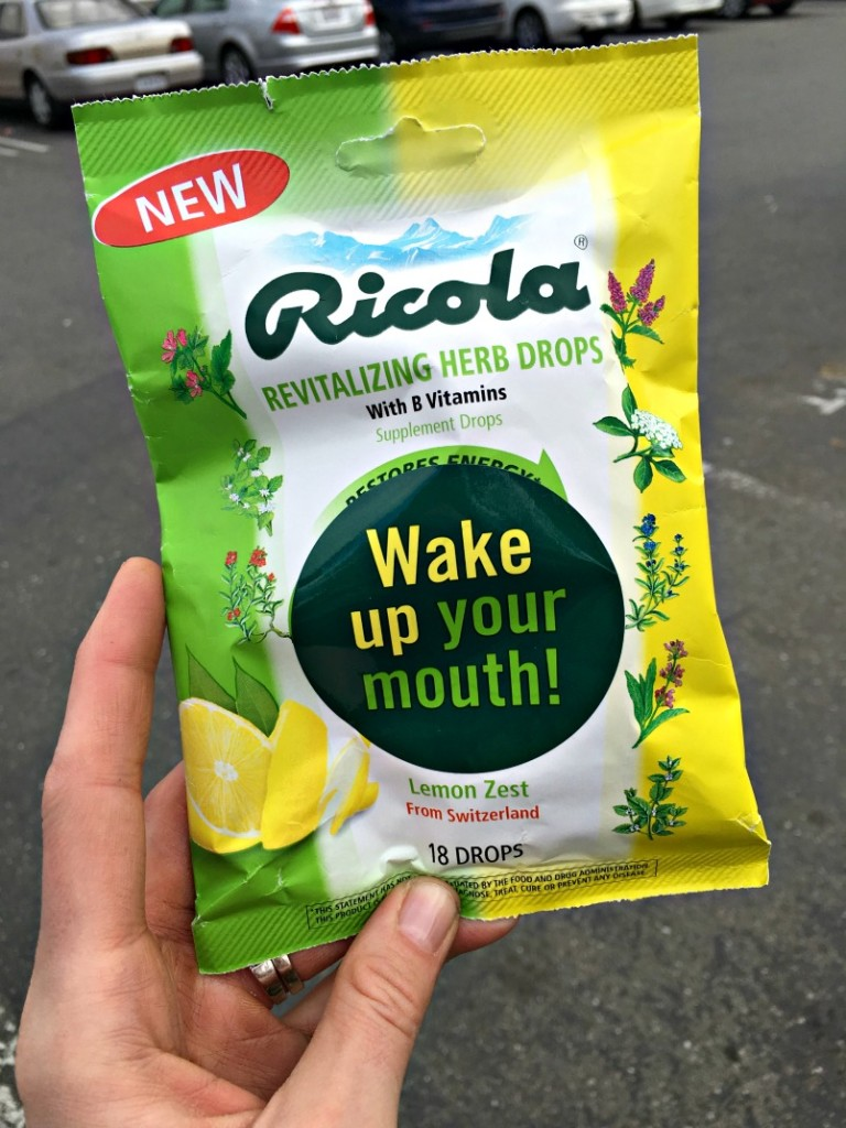 Wake up your mouth tour by Ricola via A Lady Goes West blog