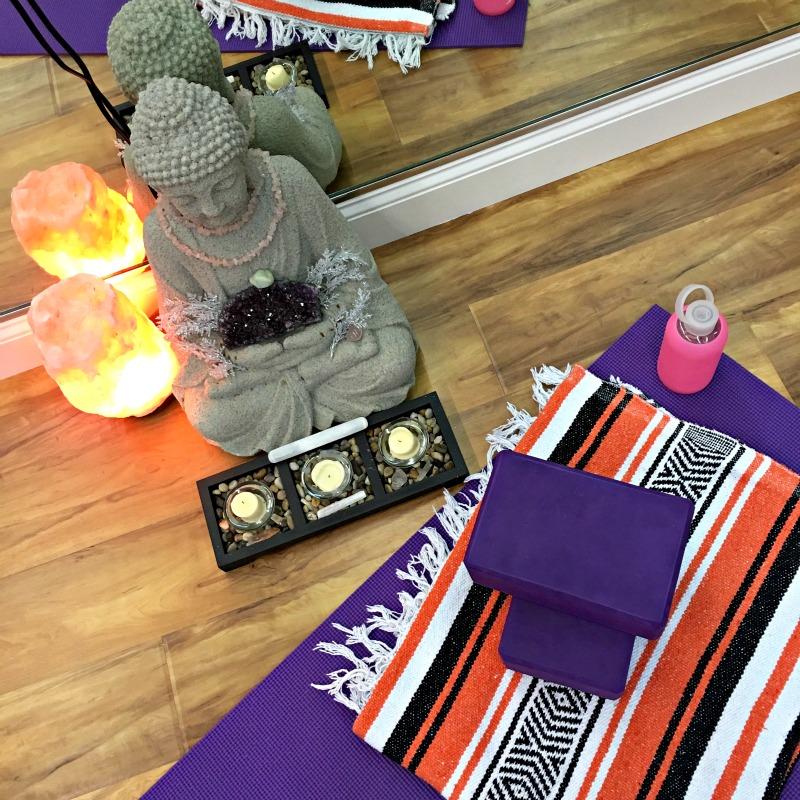 Yoga Treat buddha by A Lady Goes West