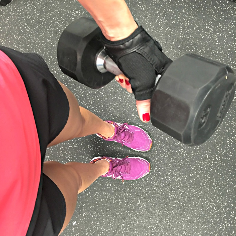 A busy girl's three-move total-body dumbbell workout by A Lady Goes West