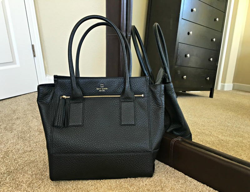 Kate Spade purse by A Lady Goes West