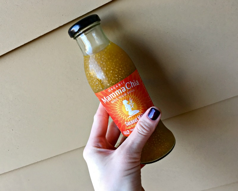 Mamma Chia drink by A Lady Goes West