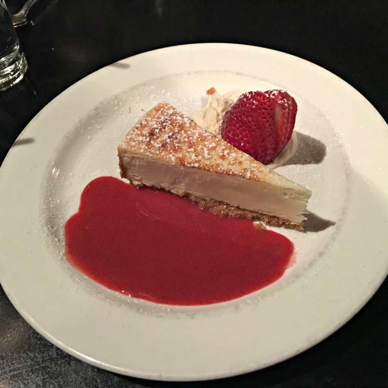 Cheesecake at Maria Maria by A Lady Goes West