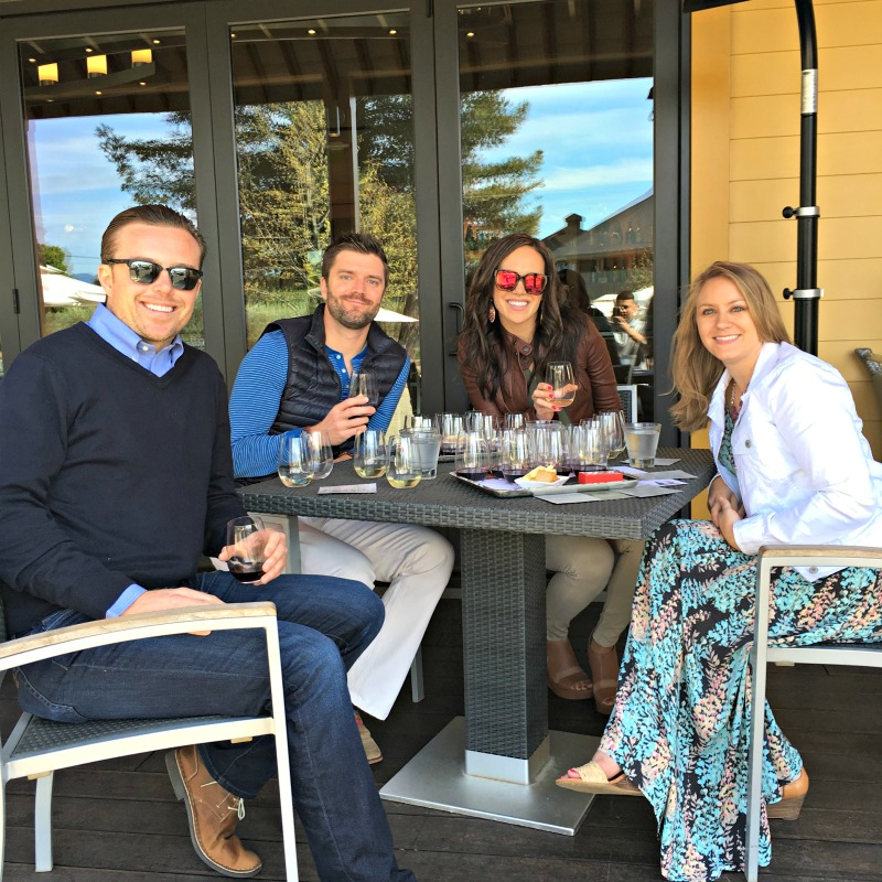 Friends in wine country by A Lady Goes West