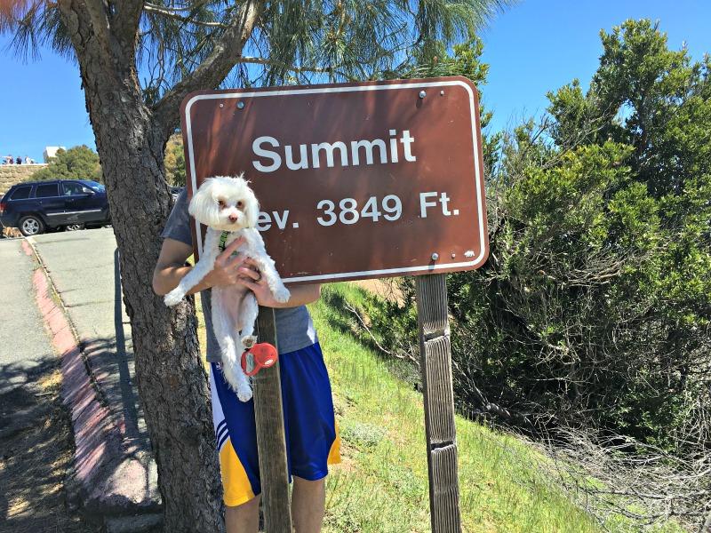 Mom visit - Rudy at the Summit