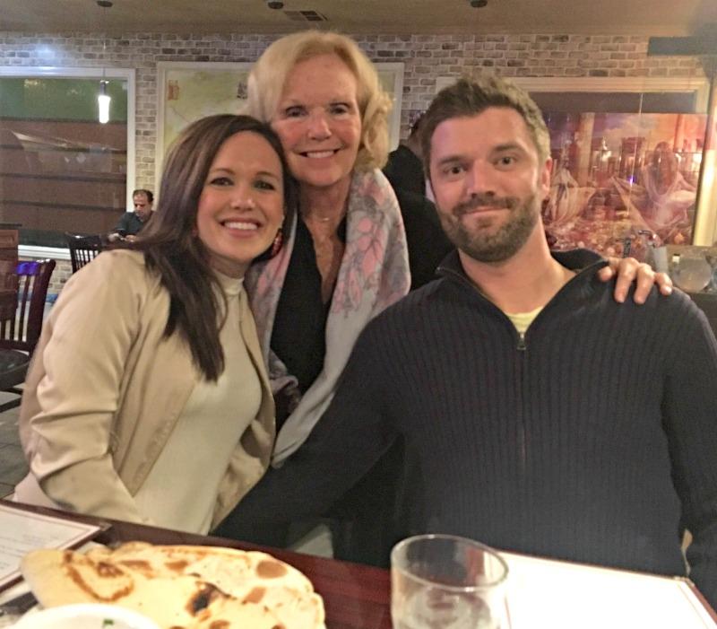 Mom visit - Silk Road dinner